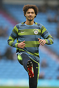 34 Phillippe Sandler for Manchester City during the The FA Cup 3rd round match between Manchester City and Rotherham United at the Etihad Stadium, Manchester, England on 6 January 2019.