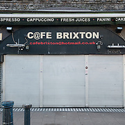 Cafe Brixton. <br /> 8 Brixton Station Road.<br /> <br /> The cafe has been open for the past 8 years, if the shop closes 2 people will be affected.