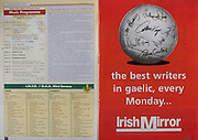 All Ireland Senior Hurling Championship - Final, .12.09.1999, 09.12.1999, 12th September 1999,.12091999AISHCF,.Senior Kilkenny v Cork,.Minor Galway v Tipperary, .Cork 0-13, Kilkenny 0-12,.Irish Mirror,