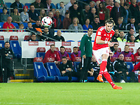 Football - 2018 World Cup - Qualifying 2016 / 2017 - Group D: Wales vs Moldova<br /> <br /> Gareth Bale shoots from a free kick     …  at the Cardiff City Stadium<br /> <br /> pic colorsport/winston bynorth