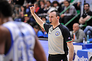 DESCRIZIONE : Campionato 2014/15 Dinamo Banco di Sardegna Sassari - Openjobmetis Varese<br /> GIOCATORE : Carmelo LoGuzzo<br /> CATEGORIA : Tiro Libero Arbitro Referee<br /> SQUADRA : AIAP<br /> EVENTO : LegaBasket Serie A Beko 2014/2015<br /> GARA : Dinamo Banco di Sardegna Sassari - Openjobmetis Varese<br /> DATA : 19/04/2015<br /> SPORT : Pallacanestro <br /> AUTORE : Agenzia Ciamillo-Castoria/L.Canu<br /> Predefinita :