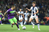 West Bromwich Albion midfielder (On loan from Leicester City) Harvey Barnes  looks for options during the EFL Sky Bet Championship match between West Bromwich Albion and Bristol City at The Hawthorns, West Bromwich, England on 18 September 2018.