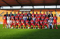 Equipe Laval - 17.09.2014 - Photo officielle Laval - Ligue 2 2014/2015<br /> Photo : Philippe Le Brech / Icon Sport