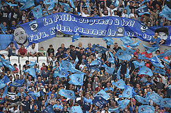 May 25, 2018 - Decines - Parc Ol, France - Supporters  (Credit Image: © Panoramic via ZUMA Press)
