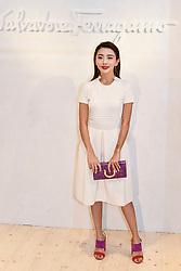 Milan Men's Fashion Week Spring Summer 2018. Milan Fashion Man, Spring Summer 2018. Salvatore Ferragamo arrives Pictured: Yvonne Ching