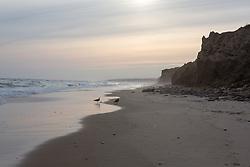 the beach in Montauk, NY off season