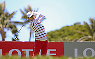 18 APR15 NY_Choi during Saturday's Final Round of The LOTTE Championship at The Ko Olina Golf Club in Kapolei, Hawaii. (photo credit : kenneth e. dennis/kendennisphoto.com)