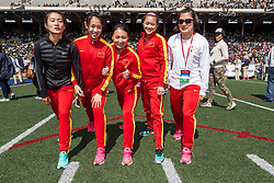 Penn Relaysfemale athletes from China