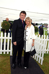 SHANE RITCHIE and CHRISTIE GODDARD at the Kuoni World Clas Polo Cup in aid of Breast Cancer Care held at Hurtwood Park Polo Club, Ewhurst, Surrey on 27th May 2007.<br /><br />NON EXCLUSIVE - WORLD RIGHTS