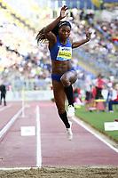 Winner Triple Jump Women Caterine Ibarguen COL  <br /> Roma 02-06-2016 Stadio Olimpico.<br /> IAAF Diamond League 2016<br /> Atletica Legera <br /> Golden Gala Meeting - Track and Field Athletics Meeting<br /> Foto Cesare Purini / Insidefoto