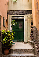 Scenes and details from the village of Vernazza, in Cinque Terre on the Ligurian coast of Italy