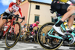 March 15, 2019 - Pomarance, Pisa, Italia - Foto Gian Mattia D'Alberto / LaPresse.15/03/2019 Pomarance (Italia) .Sport Ciclismo.Tirreno-Adriatico 2019 - edizione 54 - da Pomarance a Foligno  (226 km) .Nella foto: i corridori al podio firma..Photo Gian Mattia D'Alberto / LaPresse .March 15, 2018 Pomarance (Italy).Sport Cycling.Tirreno-Adriatico 2019 - edition 54 - Pomarance to Foligno (140 miglia) .In the pic: the athlete at the signing podium (Credit Image: © Gian Mattia D'Alberto/Lapresse via ZUMA Press)