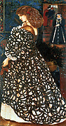 Sir Edward Burne-Jones (1833–1898) Sidonia Von Bork, based on the 1849 gothic novel Sidonia by Lady Wilde 1860