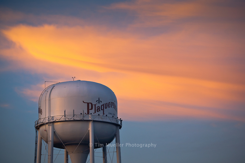 City of Plaquemine water tower.