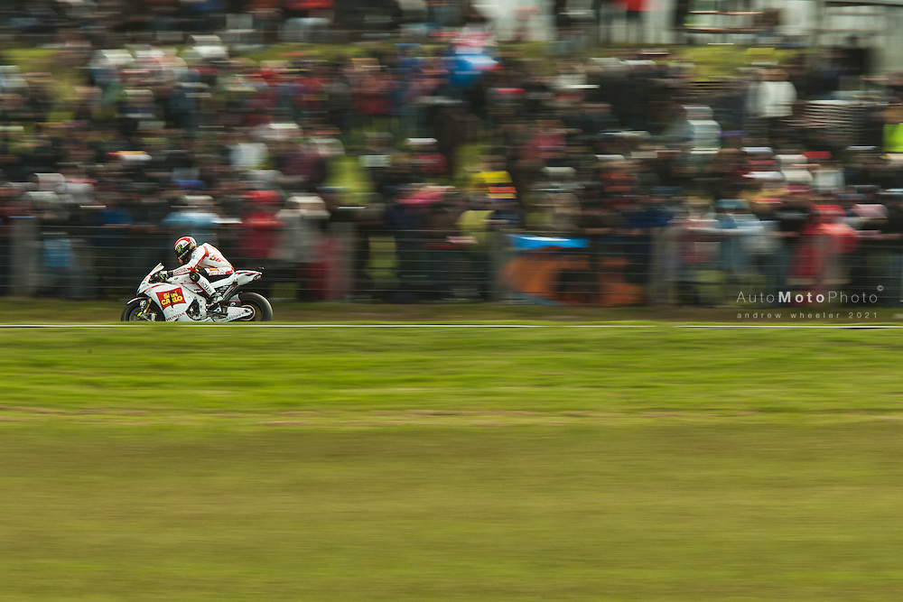 2011 MotoGP World Championship, Round 16, Phillip Island, Australia, 16 October 2011, Marco Simoncelli