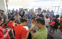 August 26, 2017 - Los Angeles, California, U.S - The 2017 Brick Fest Live LEGO Fan Experience takes place at Pasadena Convention Center on Saturday August 26, 2017, in Pasadena, California. (Credit Image: © Ringo Chiu via ZUMA Wire)