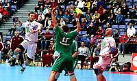 Håndball, Januar Cup , menn<br /> 17.01.2015<br /> Håkons Hall , Lillehammer<br /> Norge v Ungarn  30-27<br /> Foto : Dagfinn Limoseth , Digitalsport<br /> Christian O´Sullivan , Norge
