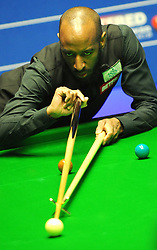 Rory McLeod during his match against Stephen Maguire on day eight of the Betfred Snooker World Championships at the Crucible Theatre, Sheffield.