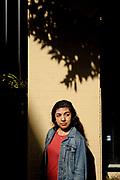 Maria Mora stands for a portrait on Friday, Feb. 10, 2017 in San Francisco, Calif. Mora, age 23, is from Guerrero,  Mexico. She was brought to California when she was four years old. She is an undocumented woman with temporary legal status under Deferred Action for Childhood Arrivals (DACA). Mora, a graduate from San Francisco State University, is currently a legal assistant to an immigration attorney.