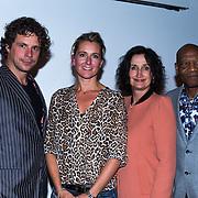 NLD/Amsterdam/20130918 - Reünie NCRV jeugdserie Spangas, Docenten Vincent Moes, Gaby Milder, Judy Doorman, Felix Burleson