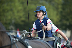 Georgina Hunt, (GBR), Chardon, Guus, Rambo, Waterreus - Driving Marathon - Alltech FEI World Equestrian Games™ 2014 - Normandy, France.<br /> © Hippo Foto Team - Becky Stroud<br /> 06/09/2014