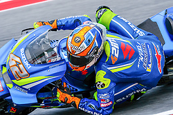 September 7, 2018 - 42 ALEX RINS from Spain, Suzuki Ecstar Team, Suzuki GSX-RR, Gran Premio Octo di San Marino e della Riviera di Rimini, during the Friday FP2 at the Marco Simoncelli World Circuit for the 13th round of MotoGP World Championship, from September 7th to 9th, 2018. (Credit Image: © AFP7 via ZUMA Wire)
