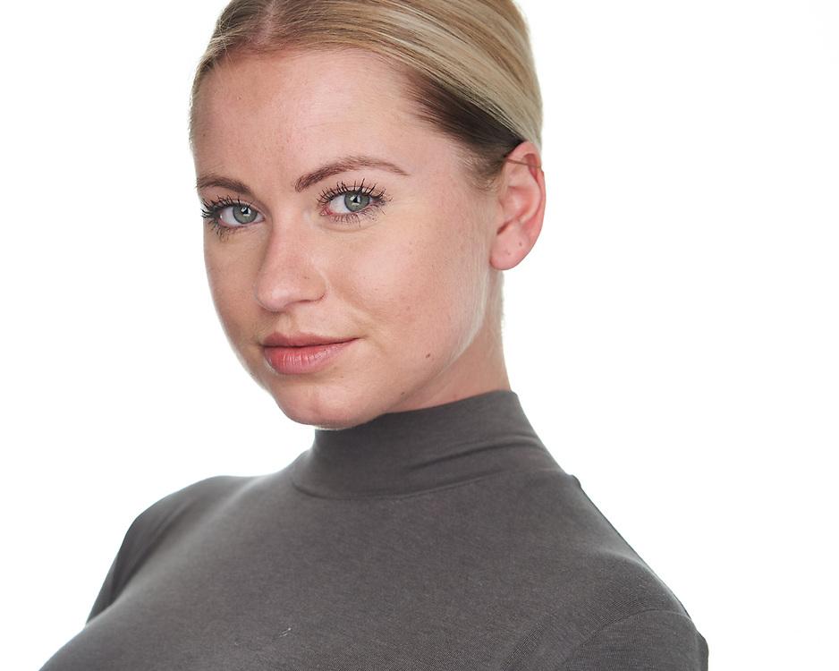 Actor Kristina P. poses for a headshot at SOSKIphoto in Hayward, California, on October 15, 2020. (Stan Olszewski/SOSKIphoto)