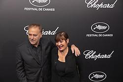 May 21, 2019 - Cannes, France - 72eme Festival International du Film de Cannes. Soiree de remise des Trophees Chopard 2019. 72th International Cannes Film Festival. 2019 Chopard Trophy.....239600 2019-05-20  Cannes France.. Bilal, Enki (Credit Image: © Yacine Fort/Starface via ZUMA Press)