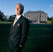 O'Reilly, CEO of the H.J. Heinz Company, at his mansion in Ireland