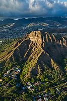 Kuilei Cliffs, Diamond Head Crater