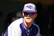CHAPEL HILL, NC - FEBRUARY 27: High Point's Carson Jackson. The University of North Carolina Tar heels hosted the High Point University Panthers on February 27, 2018, at Boshamer Stadium in Chapel Hill, NC in a Division I College Baseball game. UNC won the game 10-0.