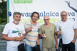 Bojan Glavic, Dnevnik, Drzavno prvenstvo novinarjev v tenisu 2019, on June 12, 2019 in Tivoli, Ljubljana, Slovenia. Photo by Saso Pahic Szabo / Sportida