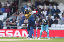 June 21, 2019 - Leeds, Yorkshire, United Kingdom - Avishka Fernando of Sri Lanka batting during the ICC Cricket World Cup 2019 match between England and Sri Lanka at Headingley Carnegie Stadium, Leeds on Friday 21st June 2019. (Credit Image: © Mi News/NurPhoto via ZUMA Press)