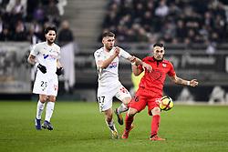 February 23, 2019 - Amiens, France - 17 ALEXIS BLIN (AMI) - 36 MAXIME PELICAN  (Credit Image: © Panoramic via ZUMA Press)