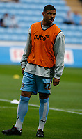Photo: Steve Bond.<br />Coventry City v Notts County. The Carling Cup. 14/08/2007. Leon Best