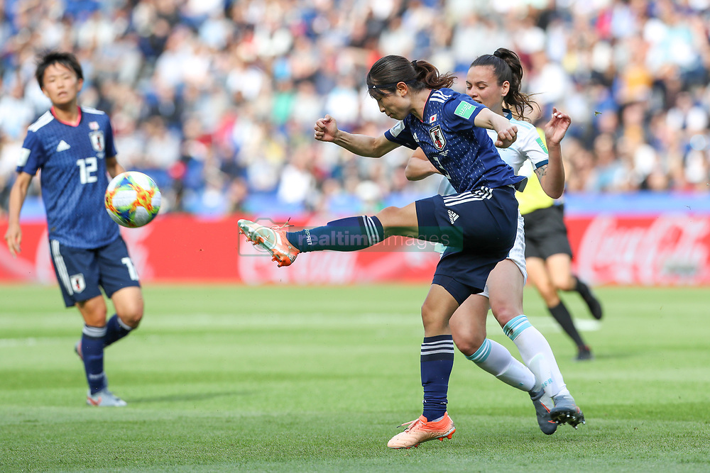 June 10, 2019: Paris, France: Sameshima  of Japan during match against Argentina game valid for group D of the first phase of the Women's Soccer World Cup in the Parc Des Princes in Paris in France on Monday, 10 (Foto: Vanessa Carvalho) (Credit Image: © Vanessa Carvalho/ZUMA Wire)