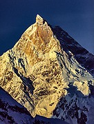 Masherbrum from Baltoro glacier