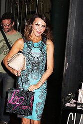 © Licensed to London News Pictures. 29/08/2013. LONDON. Lizzie Cundy, Lipsy Glam - Fragrance Launch, The Cumberland Hotel, London UK, 29 August 2013. Photo credit : Brett D. Cove/Piqtured/LNP