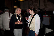 IWONA BLAZWICK; HANNAH COLLINS, The Galleries of Modern London launch party at the Museum of London on May 27, 2010 in London. <br /> -DO NOT ARCHIVE-© Copyright Photograph by Dafydd Jones. 248 Clapham Rd. London SW9 0PZ. Tel 0207 820 0771. www.dafjones.com.