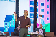 NO FEE PICTURES                                                                                                                                              10/10/19 Ron Van Erck, Head of International Market Development, Energiesprong at the Irish Council for Social Housing (ICSH) Biennial Finance and Development Conference 2019 at the Clayton Whites Hotel, Wexford 10-11 October. The two-day conference brings together 300 delegates including active housing associations, currently facing the challenge of growing their housing stock and making it more environmentally sustainable. At the event, stakeholders from the public, not-for-profit and private sectors will discuss how collaboration and innovation can develop the sector's capacity to build more sustainable and climate resilient communities.Picture: Arthur Carron