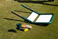 HALFWEG  - AGC , Amsterdamse Golf Club, Coronavirus , gesloten, dicht , golfbaan, gesloten,   COPYRIGHT KOEN SUYK