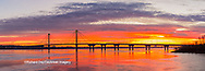 63895-15901 Clark Bridge at sunrise Alton IL