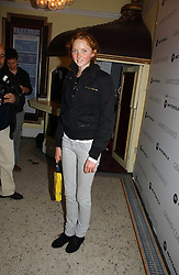 LILY COLE at the Grand Classics screening of Manhattan hosted by Giles Deacon at the Electric Cinema, Portobello Road, London W11 on 13th November 2006.<br /><br />NON EXCLUSIVE - WORLD RIGHTS
