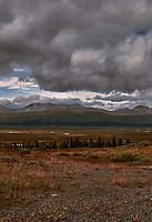 Late Summer Tatshenshini-Alsek Provincial Park Panorama from the Haines Highway. Four of Five.