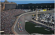 September 2, 2012 - Hampton:  Cars come out of turn four to start the AdvoCare 500 at the  Atlanta Motor Speedway in Hampton on Sunday, September 2, 2012.   ©2012 Johnny Crawford