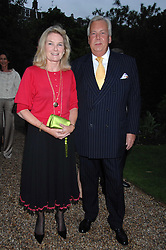 MR DAVID McDONOUGH and LADY MARY-GAYE CURZON at the annual Cartier Chelsea Flower Show dinner held at the Chelsea Physic Garden on 21st May 2007.<br /><br />NON EXCLUSIVE - WORLD RIGHTS