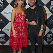 NLD/Amsterdam/20151012 - MTV EMA Pre Party, Noor de Groot en .......