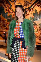 Melise Bishofburger at the 2017 PAD Collector's Preview, Berkeley Square, London, England. 02 October 2017.