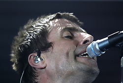 Liam Gallagher playing a concert at Manchester's O2 Ritz, in memory of the victims of last week's terror attack which killed 22 people and injured a further 64.