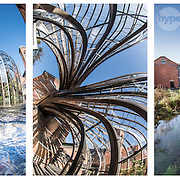 Bombay Sapphire distillery location photography, photographed by commercial and advertising photographer Stuart Freeman.